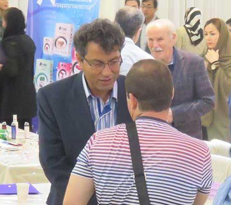 همایش معرفی محصولات روبینا بازار در اردبیل