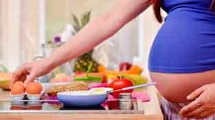 رژیم غذایی برای زنان باردار